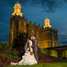 A Bride's Castle by Glenn Pearson - Wedding Bride & Groom