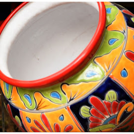 Mexican Pottery  by Lorraine D.  Heaney - Artistic Objects Glass (  )