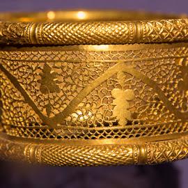 Gold Bracelet by Janet Marsh - Artistic Objects Jewelry ( bracelet, gold,  )