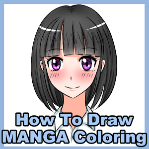 How to draw MANGA Coloring