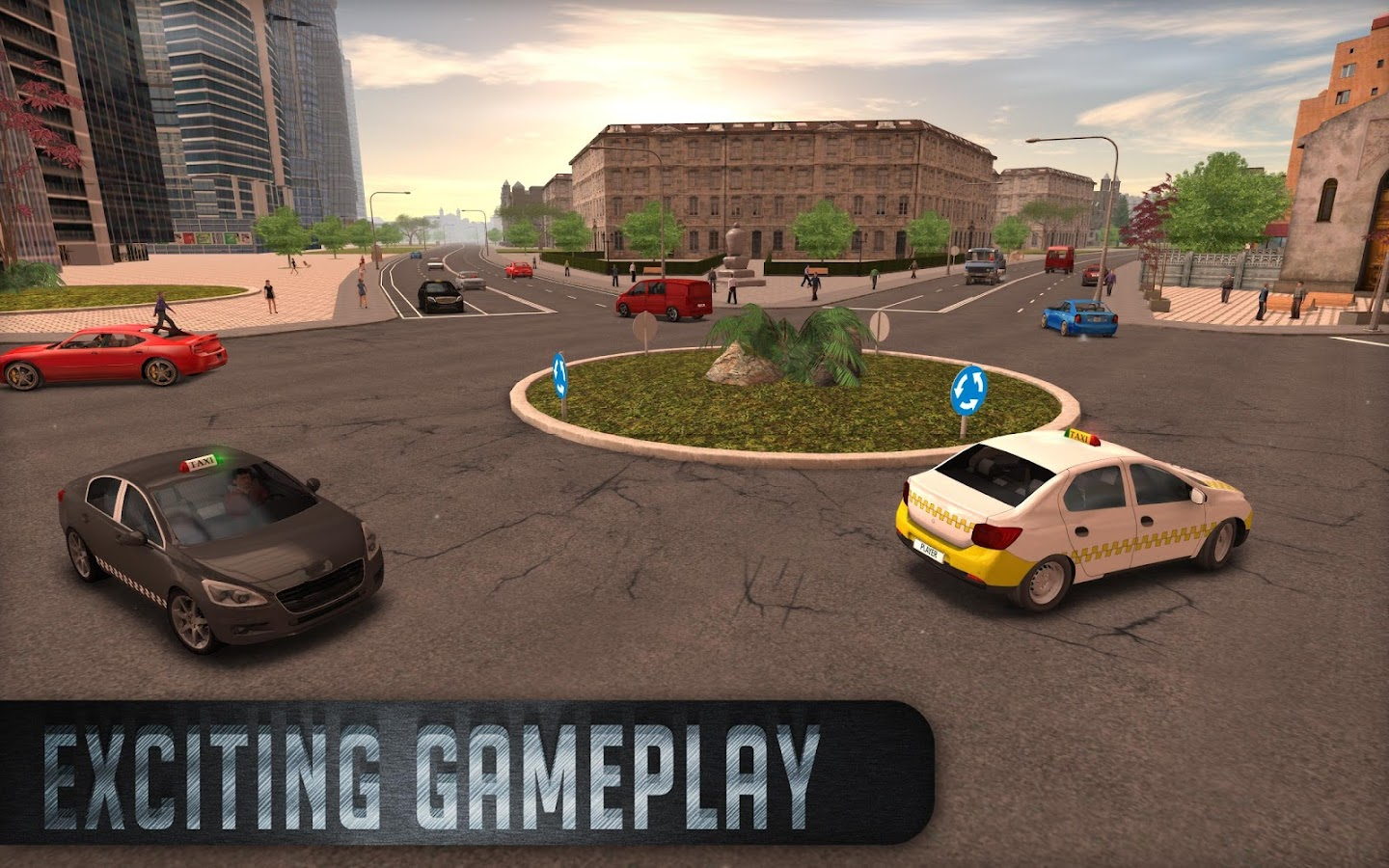 Taxi Sim 2016 Screenshot 19