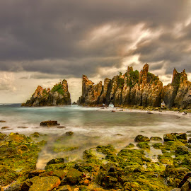Gigi Hiu beach by Hery Sulistianto - Landscapes Beaches