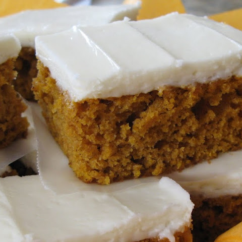 Pumpkin Bars (Adapted from Alicia's Recipes)