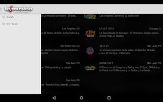 Screenshot of Lamusica