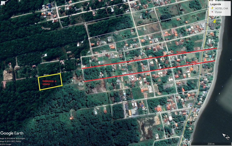 18 terrenos juntos, próximo ao Porto de Itapoá/ SC
