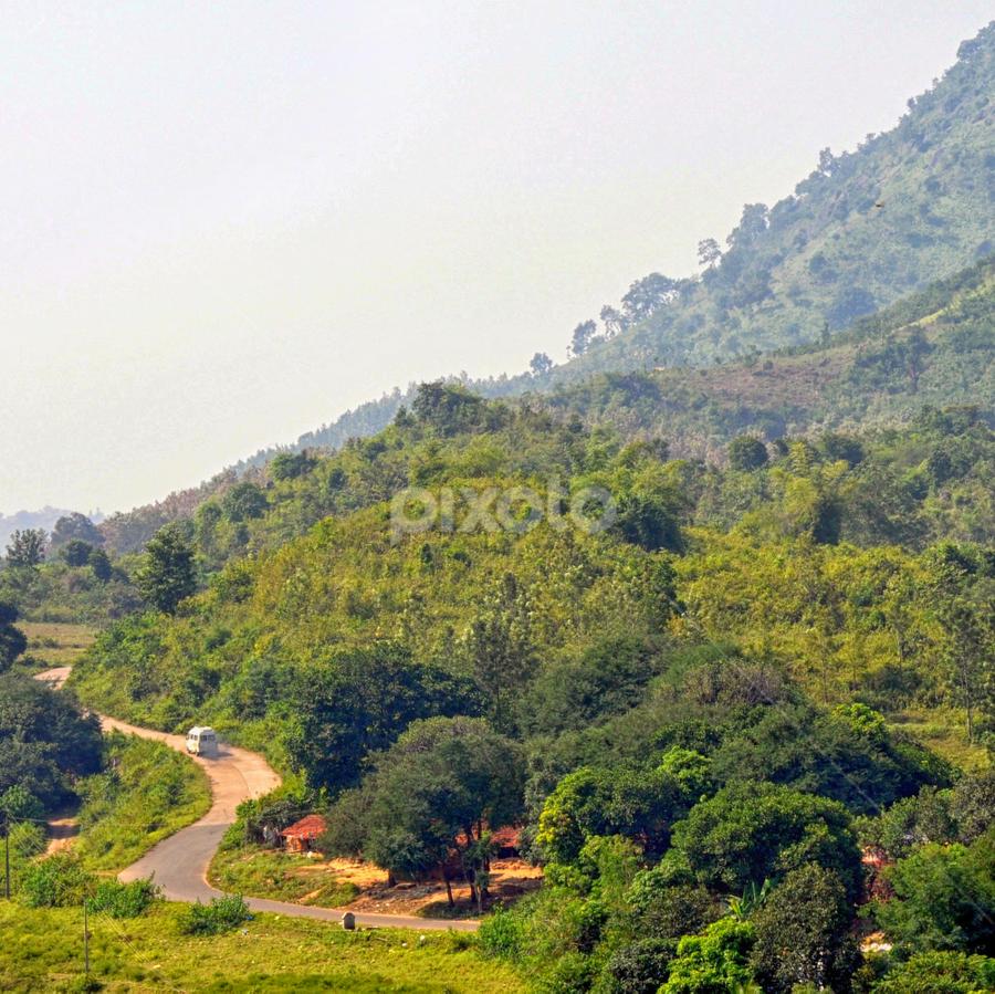 araku 4 by Subrata Chatterjee - Travel Locations Busses ( stock, railway, araku, travel location, india, valley, andhra pradesh )