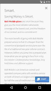 Bolt Mobile - screenshot