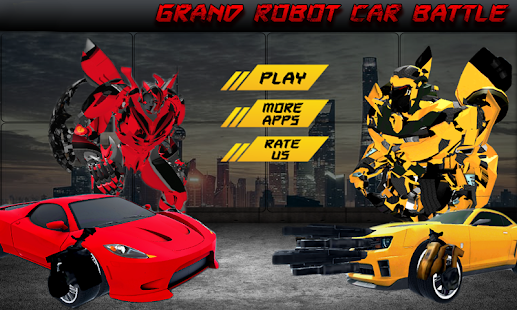 Grand Robot Car Battle APK for Bluestacks