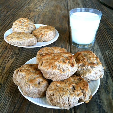 Sprouted Whole Wheat Buttermilk Biscuits
