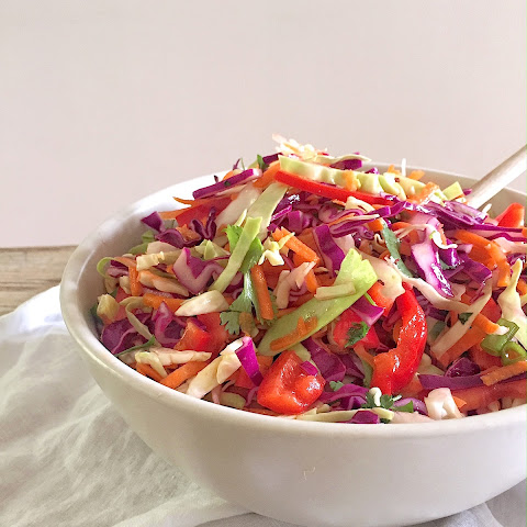 Everyday Mexican Slaw with Cilantro and Lime