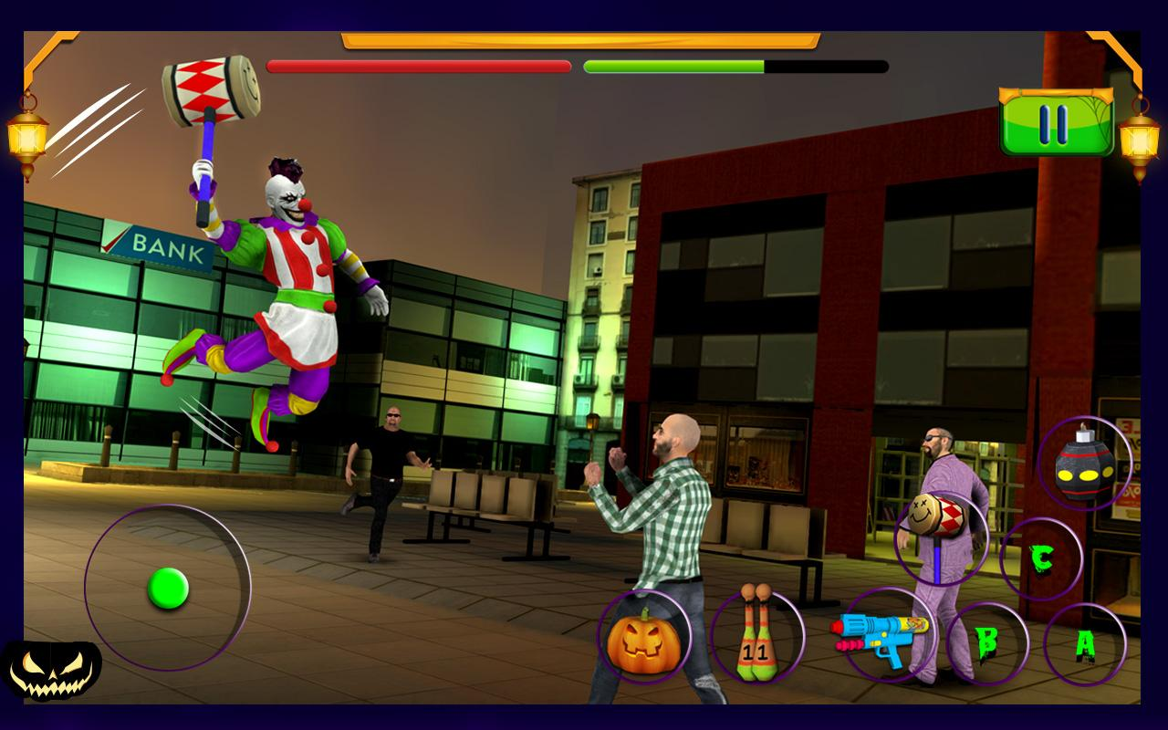 Scary Clown : Halloween Night Screenshot 5