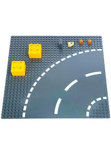 Пластина Baseplate для конструкторов, поворот 2