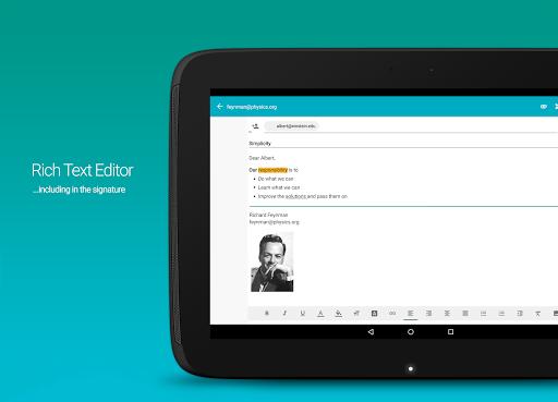 AquaMail - Email App screenshot 9