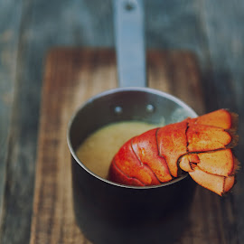 Lobster bisque by Gabriela Lupu - Food & Drink Cooking & Baking ( crustacen, bisque, seafood, lobster, soup )