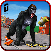 Game Ultimate Gorilla Rampage 3D APK for Kindle