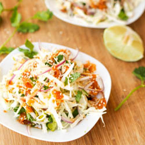 Vegan Asian Cole Slaw {Gluten-Free}