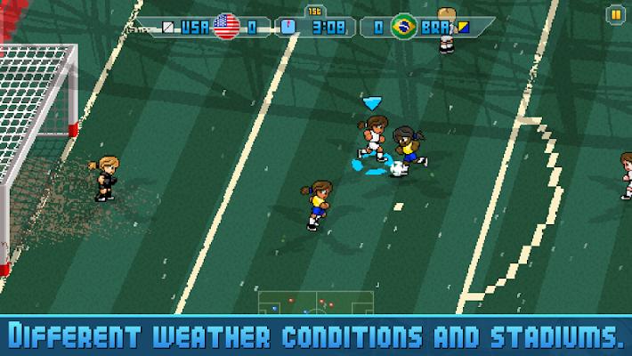 Pixel Cup Soccer 16- screenshot