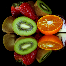 fruits with vegetables by LADOCKi Elvira - Food & Drink Fruits & Vegetables ( vegetables )