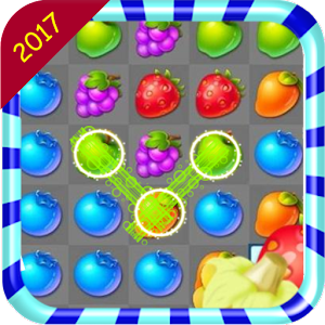 Fruit Burst' Match 3 2017 News for PC-Windows 7,8,10 and Mac