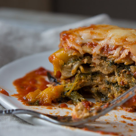 Butternut Squash and Kale Slow Cooker Lasagna
