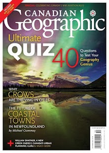 Canadian Geographic - screenshot