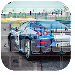 Fast Furious Cars Keyboard Icon