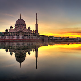 untitled... by Azam Alwi - City,  Street & Park  Vistas ( hdri, reflection, mosque, sunrise )