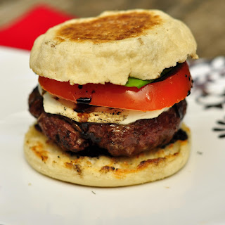 English Muffin Burgers Recipes