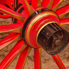 Wheel of Red by Lowell Griffith - Transportation Other