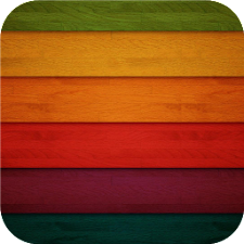 Colorful wood. Live wallpapers