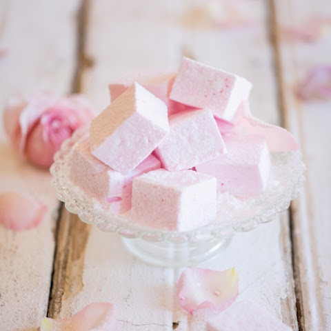 Rosewater Marshmallows