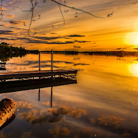 by Jackie Hartleben - Landscapes Sunsets & Sunrises ( water, may )