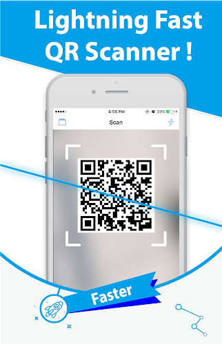 Free QR Scanner: Bar Code Scanner & QR Code Reader Android App Screenshot
