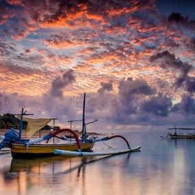.:: joyful sunrise ::. by Setyawan B. Prasodjo - Transportation Boats (  )