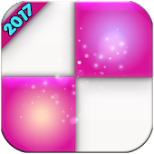 PINK PIANO Tiles valentens day APK for Bluestacks