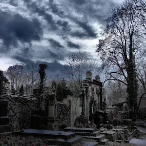 Pribram Czech Republic Cemetery by Libuše Kludská - City,  Street & Park  Cemeteries