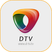 DTV IPTV xtream & watch live TV & Sports Channels Icon