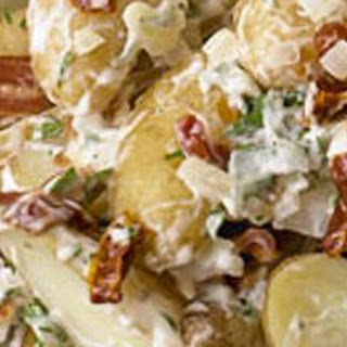 Fingerling Potato Salad with Bacon and Sun-Dried Tomatoes