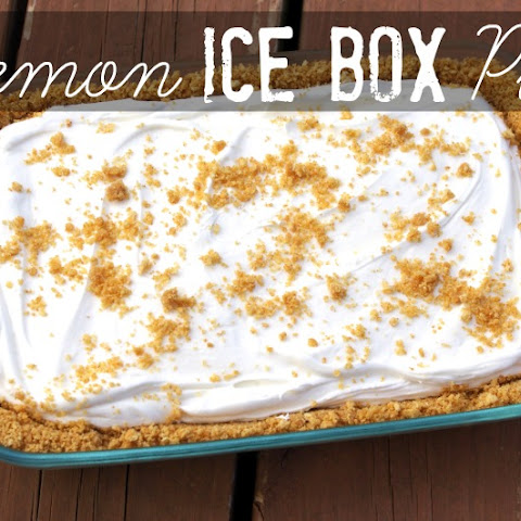 Lemon Ice Box Pie