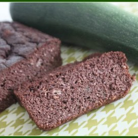 Chocolate Zucchini Pound Cake - Grain, Sugar Free and Candida diet friendly