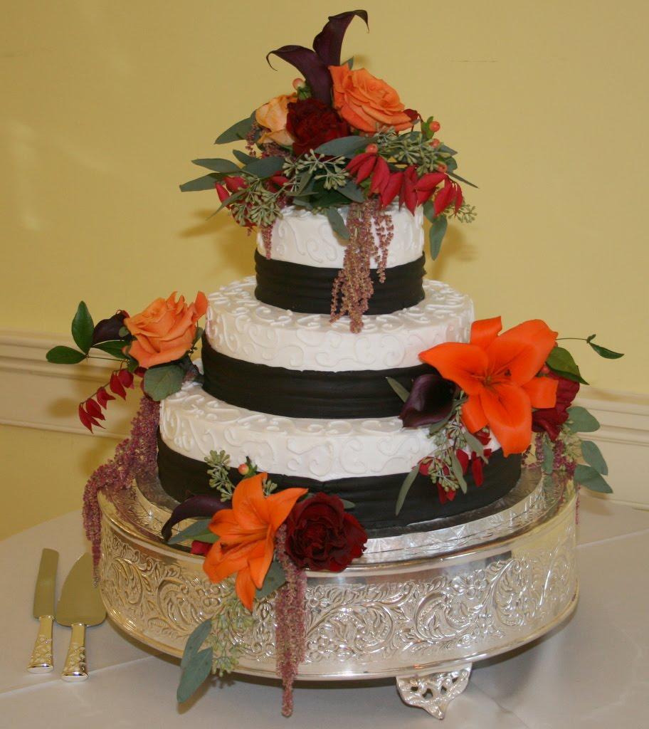 October Wedding Reception at
