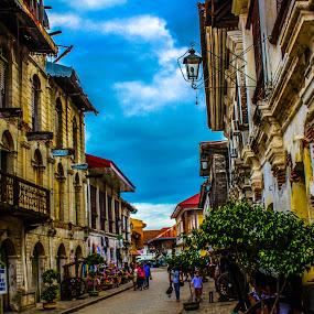 calle crisologo vigan by Diofel Dagandan - Buildings & Architecture Public & Historical