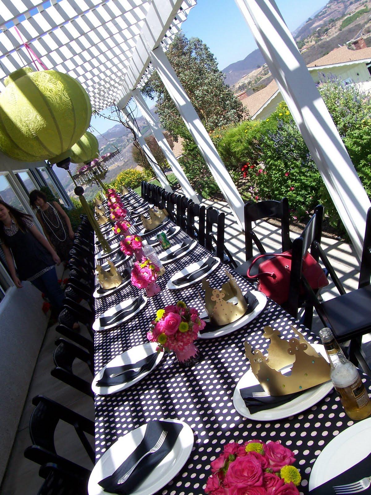 Dili s blog Black White Lime Green Wedding