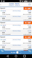 Screenshot of Bravofly: flights search