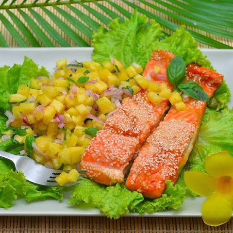 Salmon With Orange Jam