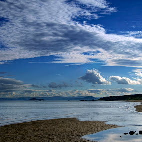 Kirkcaldy Beach              by Mike Hawkwind - Novices Only Landscapes ( water, scotland, uk, sky, kirkcaldy, beach, landscape )