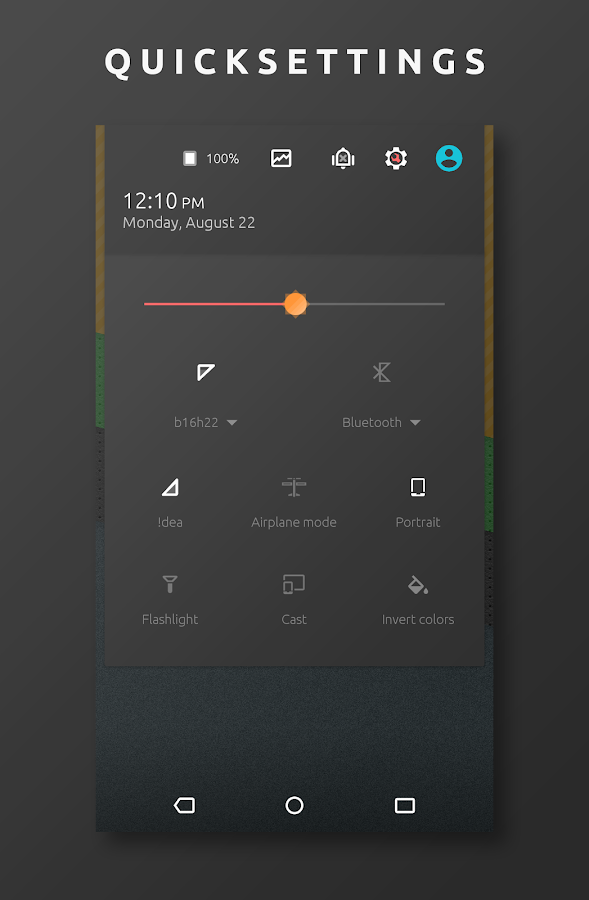 Lynes - CM12.1/CM13 Theme Screenshot 1