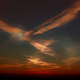 Angel In The Sky by Sheen Deis - Landscapes Cloud Formations ( clouds, sky, landscape, angels )