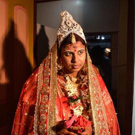 by Subhajit Ganguly - Wedding Bride