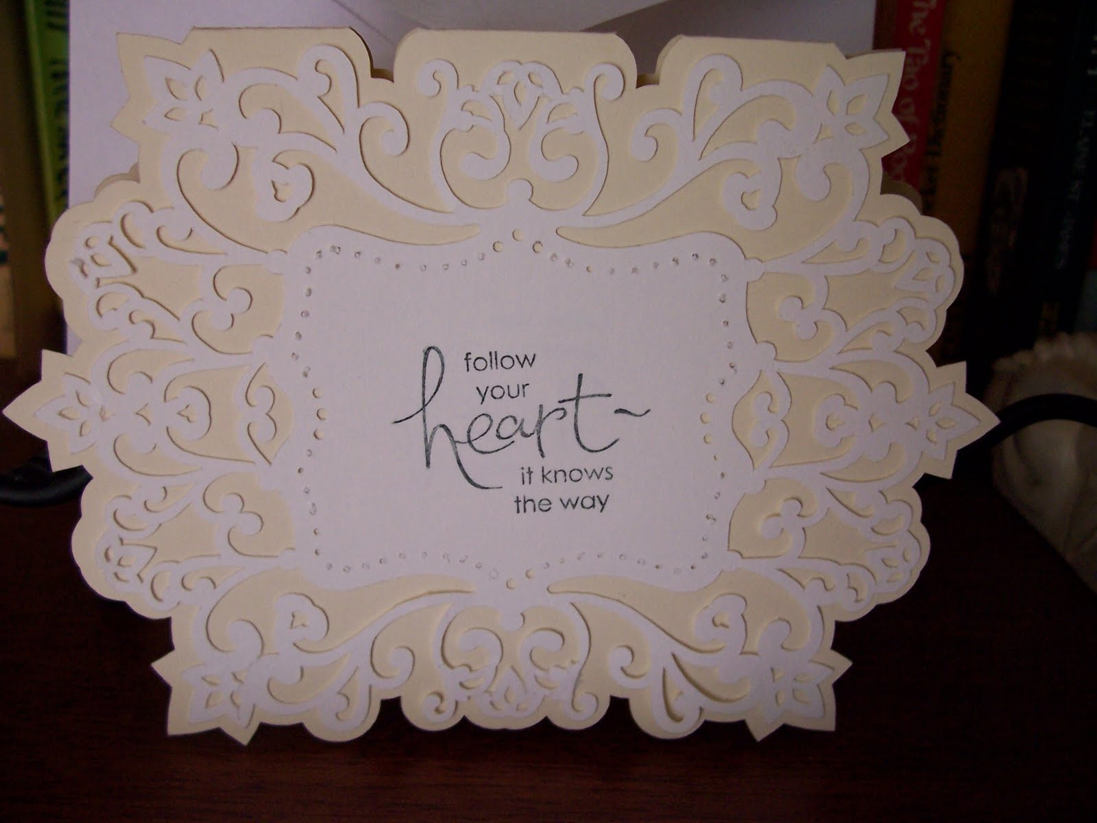 a special wedding card for